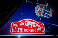 79.o Reúna de Monte Carlo, edición del centenary Fotos de archivo