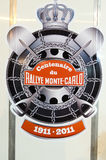 79th ралли centenary de варианта montecarlo Стоковое Изображение RF