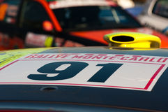 79th Rally de montecarlo , centenary' edition Stock Photography