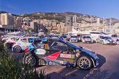 79th Rally de montecarlo , centenary' edition Stock Photos