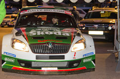 79th Rally de montecarlo , centenary' edition Stock Image