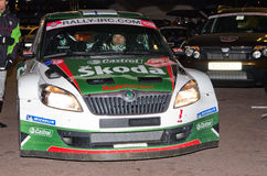 79th Rally de montecarlo , centenary' edition Royalty Free Stock Photos