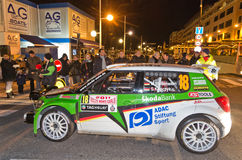 79th Rally de montecarlo , centenary' edition Royalty Free Stock Images