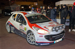 79th Rally de montecarlo , centenary' edition Stock Photos