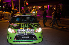 79th Rally de montecarlo , centenary' edition Royalty Free Stock Image
