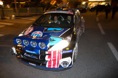 79th Rally de montecarlo , centenary' edition Royalty Free Stock Photo