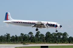 7b东部航空公司的dc 库存照片