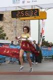 7th alexander stora internationella maraton Fotografering för Bildbyråer