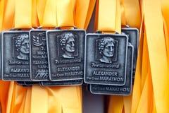 7th alexander stora internationella maraton Royaltyfri Foto