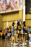 7th Asian Netball Championship Action Royalty Free Stock Images