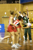 7th Asian Netball Championship Action (Blurred) Royalty Free Stock Photography