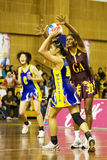 7th Asian Netball Championship Action (Blurred) Stock Photos