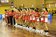7th Asian Netball Championship - Singapore Royalty Free Stock Photos