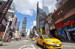 7th Ave and Times Square, New York City Royalty Free Stock Photography