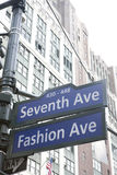 7th Avenue Royalty Free Stock Photography