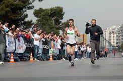 7th International Alexander The Great Marathon  Stock Photo