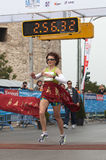 7th International Alexander The Great Marathon Stock Image