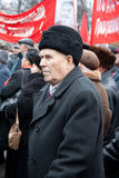 7th of November communist demonstration Stock Photos