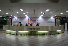 8ème Foire de livre internationale de Karachi Images libres de droits