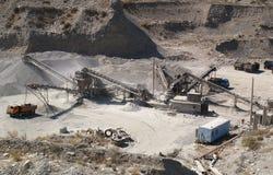 8个坑沙子 库存图片