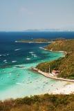 8个海岛ko lan pattaya 图库摄影