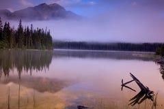 8个湖金字塔 库存照片