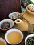 8中国人茶 库存照片