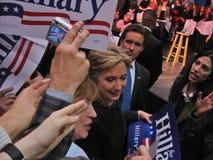 8克林顿・希拉里・俄亥俄 免版税库存照片