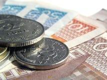8名克罗地亚人货币 库存照片