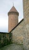 8座城堡塔 库存图片