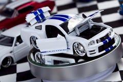 8月27日自动被印模的公平的Ford Mustang 免版税库存照片