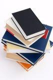 8本书没有堆 免版税库存图片