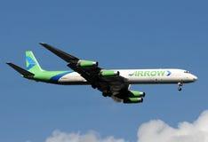 8架飞机dc道格拉斯喷气机mcdonnell 免版税图库摄影