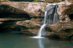 8瀑布 库存照片