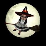 8玩偶witchy的万圣节 免版税库存图片