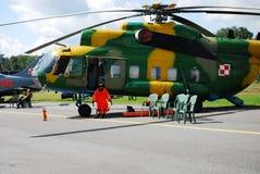 8直升机mi 免版税库存图片