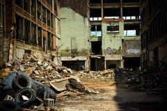 8被放弃的工厂packard 免版税库存图片