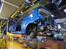 8辆汽车生产 库存照片