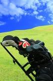 8高尔夫球 库存照片