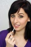 8 εφαρμόζουν τις όμορφες νεολαίες γυναικών makeup Στοκ φωτογραφία με δικαίωμα ελεύθερης χρήσης