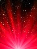 8 κατεβαίνοντας eps snowflakes αστέρια απεικόνιση αποθεμάτων
