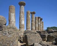 8 античных руин Стоковые Изображения RF