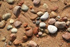 8 камушков Стоковая Фотография RF