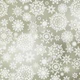 8 снежинок картины eps безшовных Стоковая Фотография RF