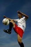 足球运动员#8 免版税库存图片