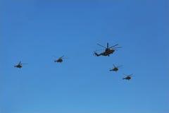8 26 towarzyszący grupowy helikopter mi Fotografia Stock