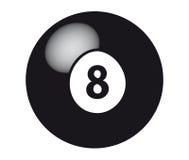 8球 免版税图库摄影