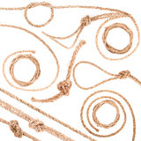 диаграмма веревочка двойника 8 узла Стоковое Фото