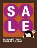 8.5x11 Sale Flyer Stock Photography