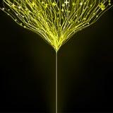 8 abstrakta zamazany eps futurystyczny lekki neon Zdjęcia Royalty Free